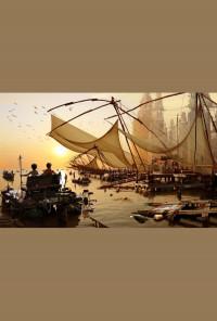 Плакат паспарту - Рибарски мрежи