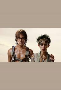 Плакат паспарту - Флин и Тони, хоризонтален